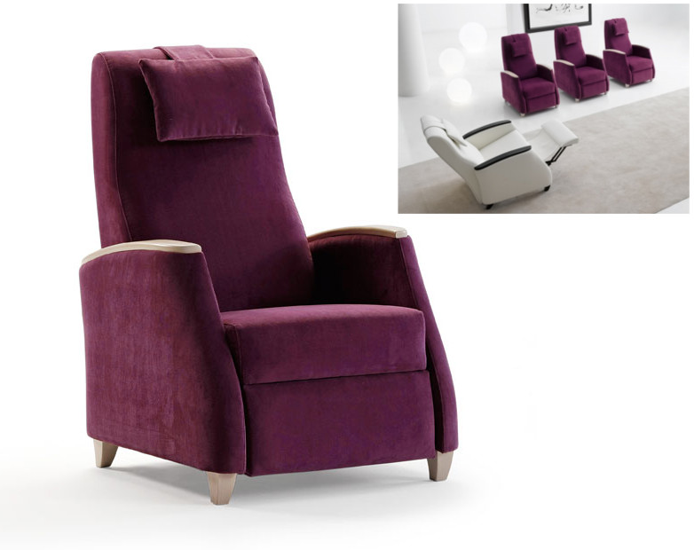 Sillones relax tapicer as navarro mobel madrid online for Sillones diseno online