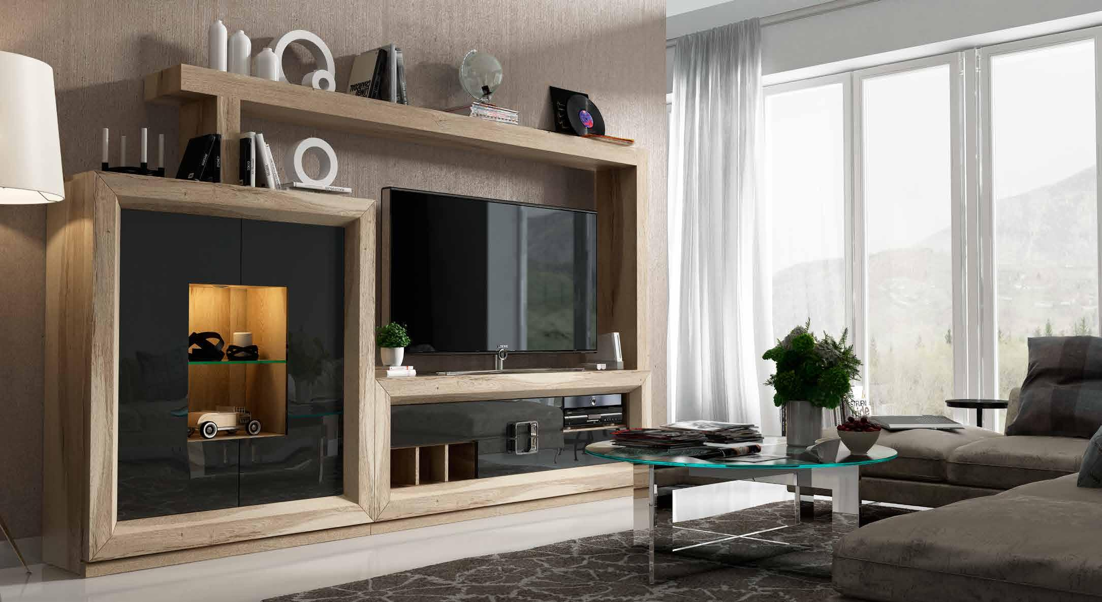 Sal n enzo by franco furniture mobel madrid online - Muebles de salon originales ...