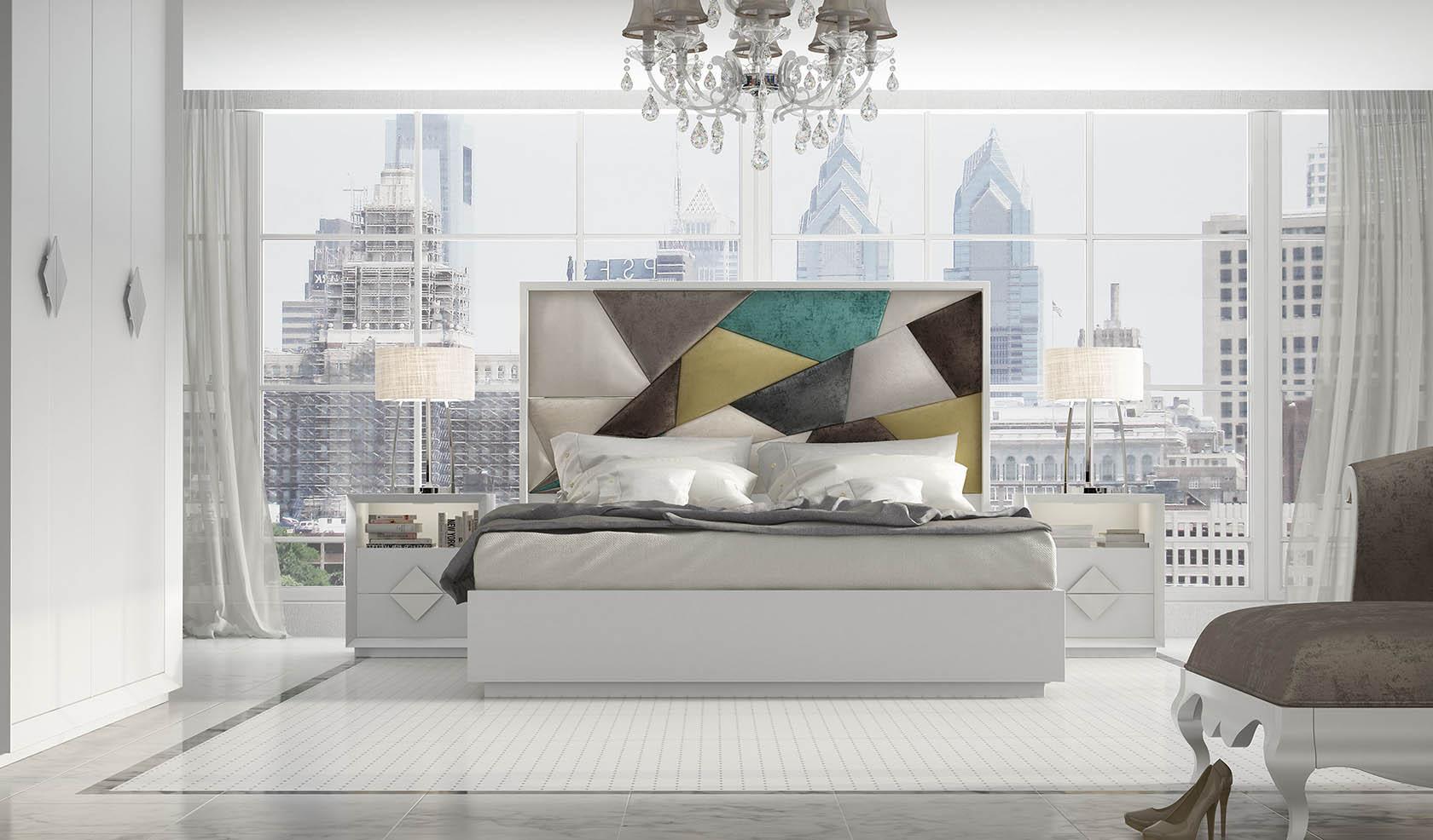 Cabeceros tapizados franco furniture for Cabeceros de cama tapizados