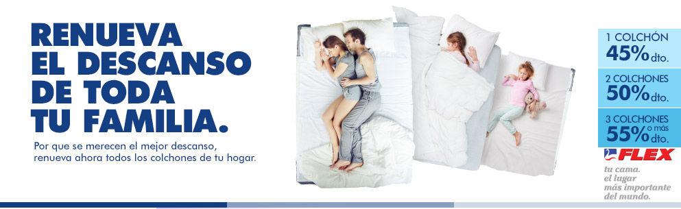 Renueva tu colchón con Flex en Mobel Madrid