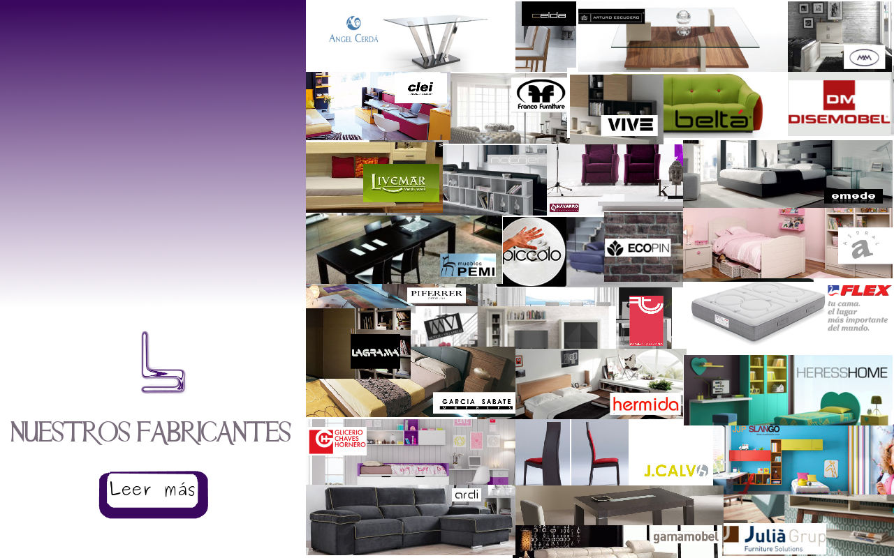 fabricantes muebles